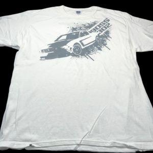 Ford Mustang Boss 302 White T-Shirt Men's XL NWOT